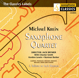 Michael Krein Saxophone Quartet
