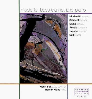 Sonatas for Bass Clarinet and Piano