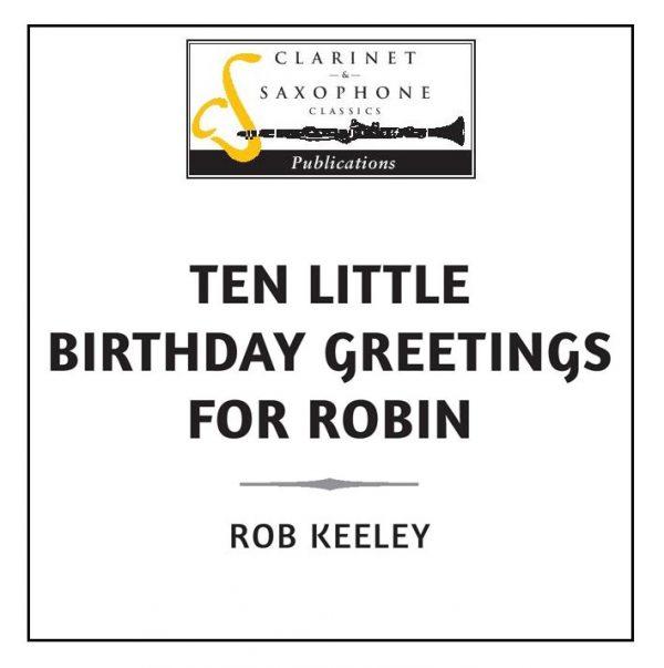 TEN LITTLE BIRTHDAY GREETINGS