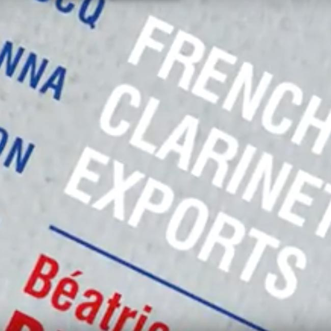 B.BERNE & J-M.FESSARD CD French Clarinet Exports